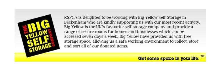 Supported by Big Yellow Storage