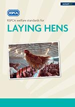 RSPCA welfare standards for laying hens cover © RSPCA Farm Animals Department