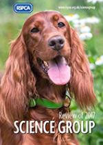 RSPCA Science Group Review 2017 cover © RSPCA