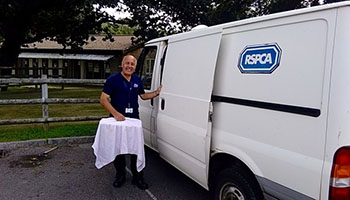 gordon dunham rspca volunteer