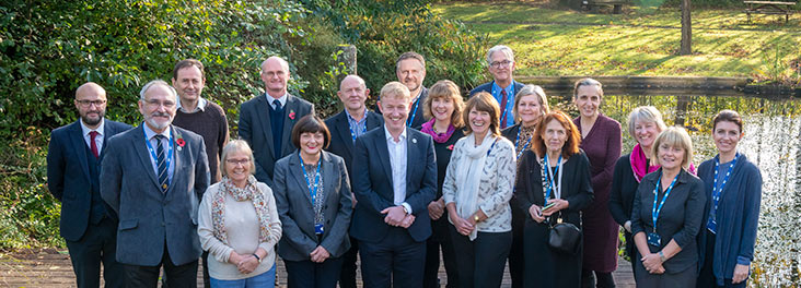 RSPCA Board members with the Executive Leadership Team © RSPCA