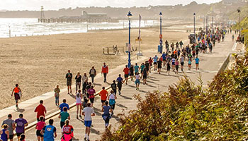 Bournemouth half marathon runners