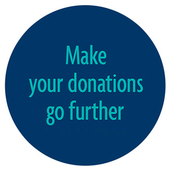 Make your donation go further