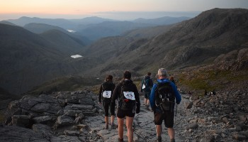 Lake District trekkers