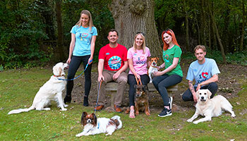 Exclusive RSPCA printed T-shirts on Merch by Amazon © RSPCA
