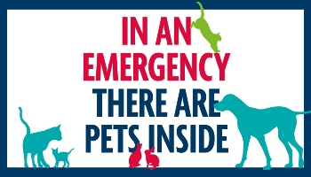 RSPCA emergency pet care form poster