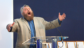 Brian Blessed, OBE guest speaker © RSPCA