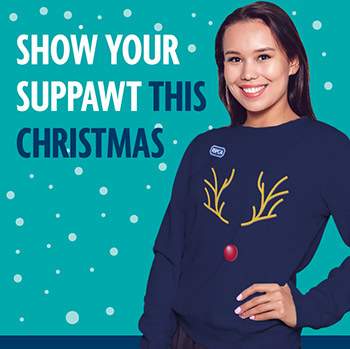 Official RSPCA Christmas jumpers © RSPCA