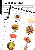 Caring For Farm Animals Worksheets