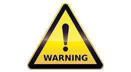 warning triangle © Fotolia 260195