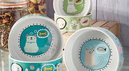Cartoon Pet Bowls © RSPCA