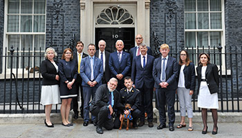 Calling on the Government to increase animal cruelty sentences at 10 Downing Street