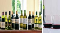 Collection of red wines © Lathwaite's wine