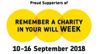 Remember A Charity week 2014 logo © remember a charity