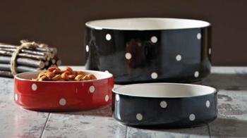 Mason Cash three dog bowls © RSPCA