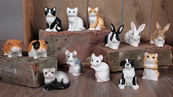 Dartington figurines © RSPCA