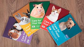 Harper Collins care for books © RSPCA
