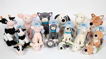 Huggables soft toys