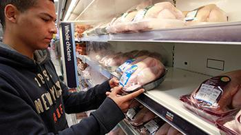 Food labels are an important way so consumers can make informed choices about what they eat © RSPCA