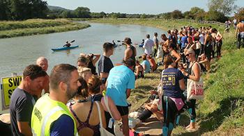 River Adur swimmers at the start