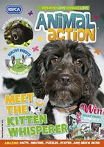 Animal action cover June 2018 © RSPCA