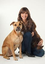 Victoria Stilwell with dogs ©2011 Parker Clayton Smith