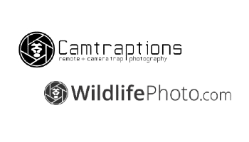 Camtraptions and WildlifePhoto.com logos