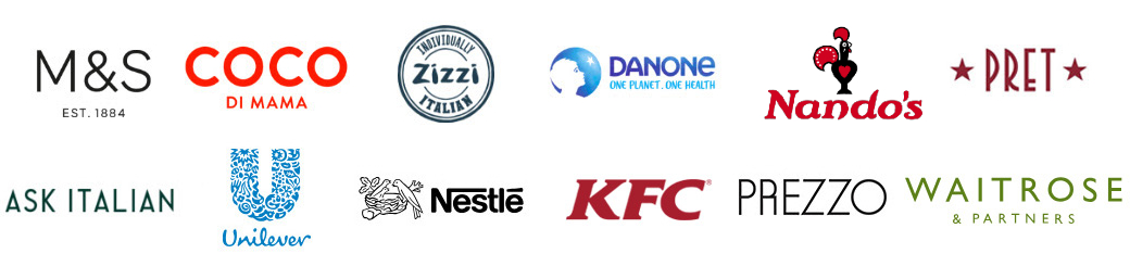 Companies currently committed to better chicken welfare standards