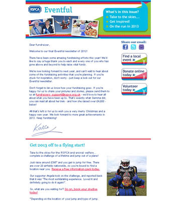 Example newsletter