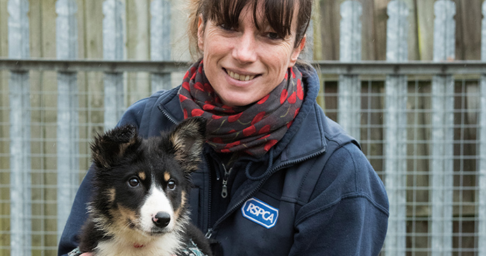 RSPCA Millbrook Deputy Manager Liz Wood