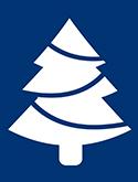 Graphic of Christmas tree