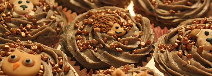 A selection of cupcakes © RSPCA