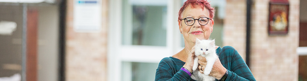 Jo Brand hosting channel 5's Cats and Kittens