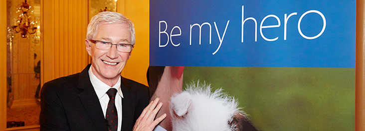 Paul O'Grady at the 2014 Animal Hero Awards © RSPCA photolibrary