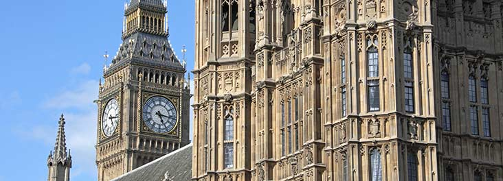 Big Ben and houses of parliament © RSPCA Photolibrary