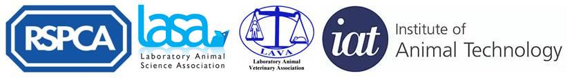 RSPCA logo © RSPCA, LASA logo © LASA, LAVA logo © LAVA and IAT logo © IAT