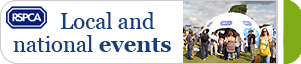 Check out our local and national events © RSPCA