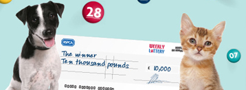 RSPCA weekly lottery