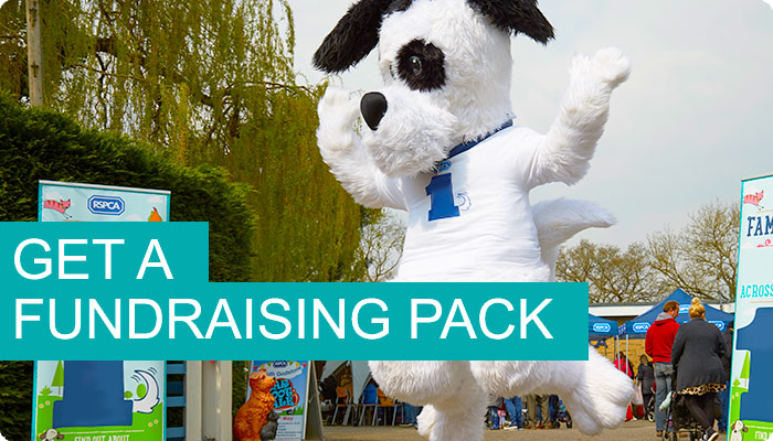 Get a fundraising pack © RSPCA